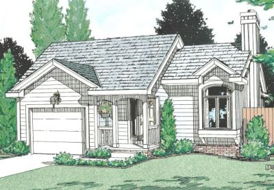 Traditional Style House Plans Plan: 10-1015
