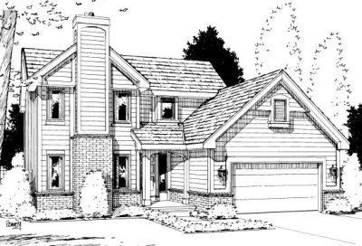 Traditional Style House Plans Plan: 10-1016