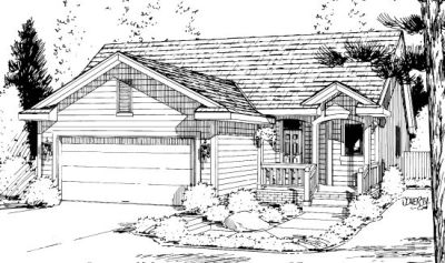 Traditional Style House Plans Plan: 10-1018