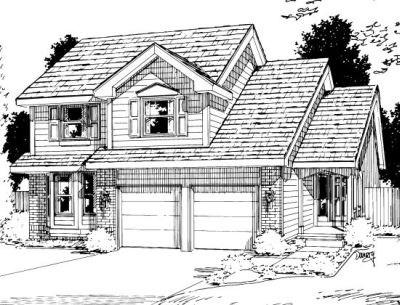 Traditional Style Floor Plans Plan: 10-1021