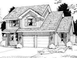 Traditional Style House Plans Plan: 10-1021