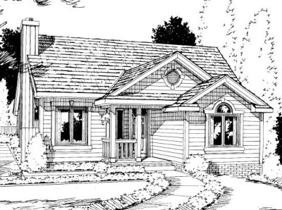 Traditional Style House Plans Plan: 10-1023