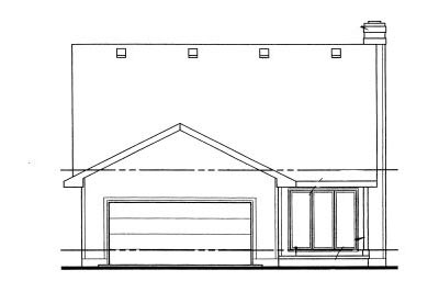 Rear Elevation Plan: 10-1023