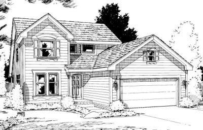 Traditional Style Floor Plans Plan: 10-1025