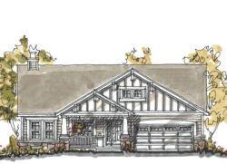 Craftsman Style Home Design Plan: 10-1035