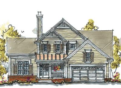 Country Style Floor Plans Plan: 10-1037