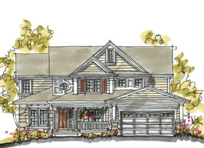 Traditional Style House Plans Plan: 10-1040
