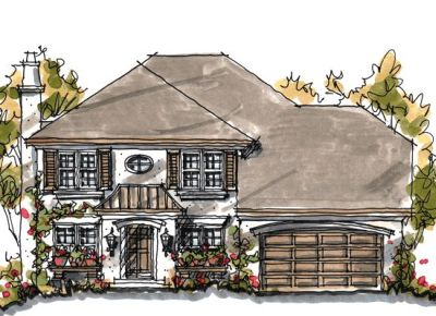 European Style Floor Plans Plan: 10-1044