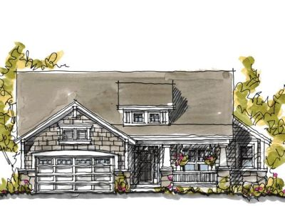 Craftsman Style House Plans Plan: 10-1048
