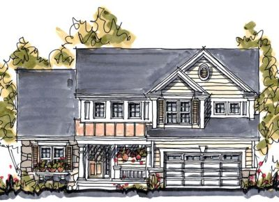 Traditional Style House Plans Plan: 10-1050