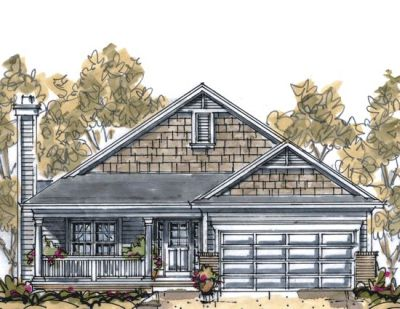 Traditional Style Floor Plans Plan: 10-1058
