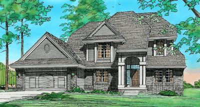 Traditional Style House Plans Plan: 10-106