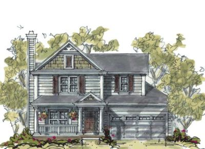Traditional Style House Plans Plan: 10-1062