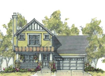 Craftsman Style House Plans Plan: 10-1064