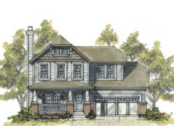 Craftsman Style House Plans Plan: 10-1065