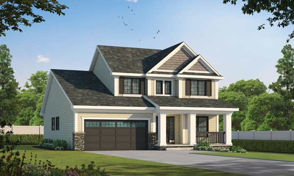 Traditional Style House Plans Plan: 10-1066