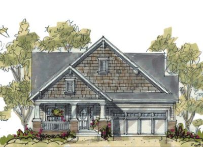 Craftsman Style House Plans Plan: 10-1069