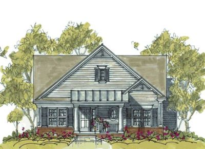 Bungalow Style Home Design Plan: 10-1073