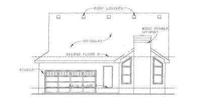 Rear Elevations Plan:10-1079