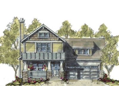 Craftsman Style House Plans Plan: 10-1086