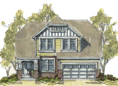 Craftsman Style Home Design 10-1089