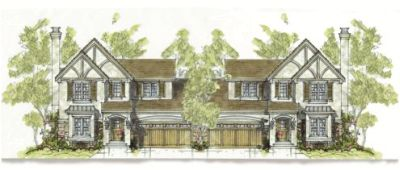English-country Style Home Design Plan: 10-1094