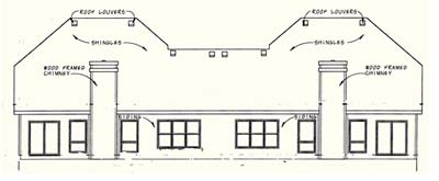 Rear Elevation Plan: 10-1096