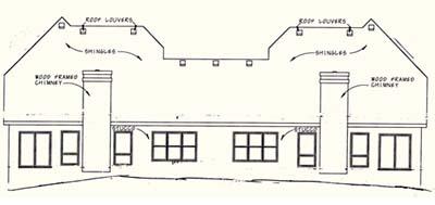 Rear Elevation Plan: 10-1097