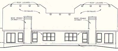 Rear Elevation Plan: 10-1098