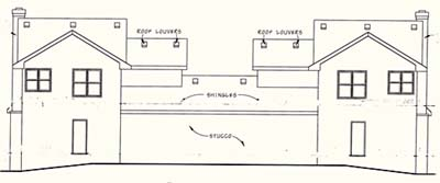 Rear Elevations Plan:10-1100