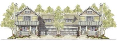 Craftsman Style Floor Plans Plan: 10-1101