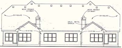 Rear Elevation Plan: 10-1104