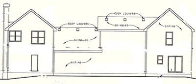 Rear Elevation Plan: 10-1105