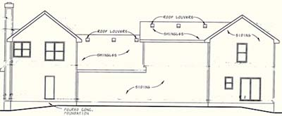 Rear Elevations Plan:10-1107