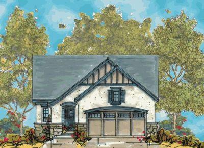 European Style House Plans Plan: 10-1109