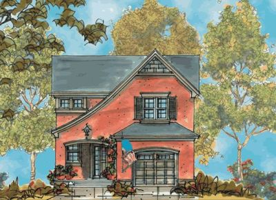 French-Country Style House Plans Plan: 10-1112