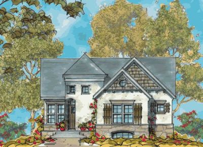 French-country Style House Plans Plan: 10-1120