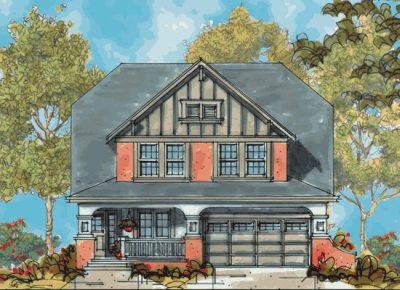 Craftsman Style Floor Plans Plan: 10-1124
