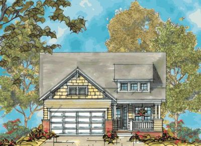 Craftsman Style Floor Plans Plan: 10-1125