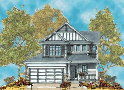 Traditional Style Home Design Plan: 10-1126