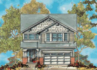 Craftsman Style Home Design Plan: 10-1131