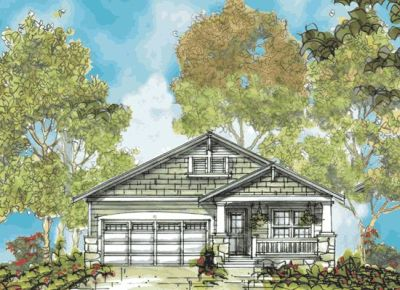 Craftsman Style Floor Plans Plan: 10-1132