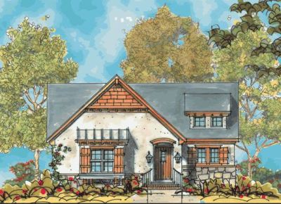 European Style Floor Plans 10-1134