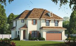 European Style Home Design Plan: 10-1137