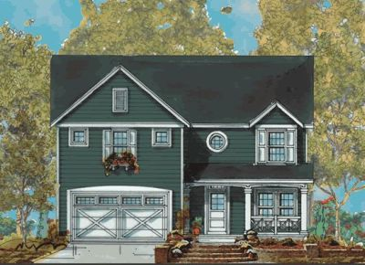 Traditional Style Home Design Plan: 10-1138
