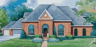 European Style Floor Plans Plan: 10-1141
