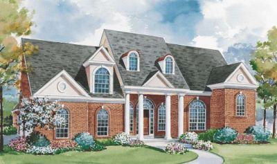 Southern Style House Plans Plan: 10-1143