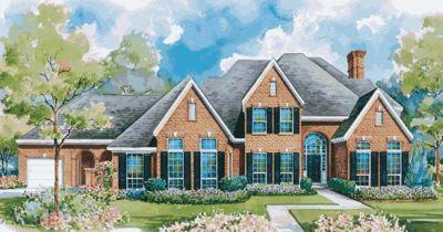 European Style House Plans Plan: 10-1144