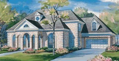 European Style House Plans Plan: 10-1149