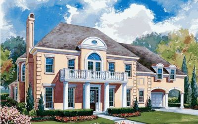 Italian Style House Plans Plan: 10-1154